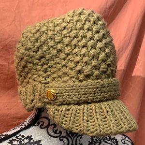 Michael Kors Beige Knitted Beanie / Winter Hat